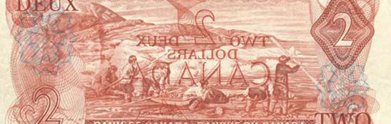 Offset printing - Errors and varieties - Canada Banknote