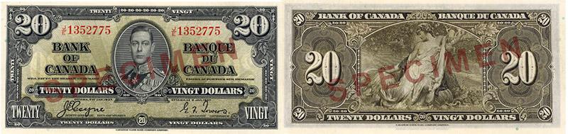 20 dollars 1937