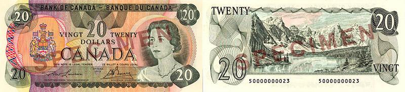 20 dollars 1979
