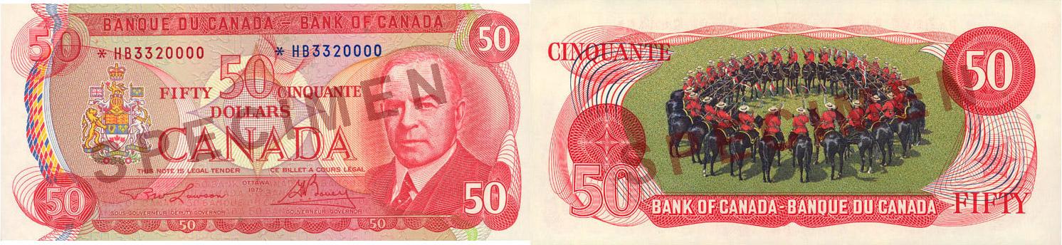 50 dollars 1969