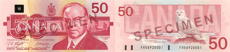 1986 - 50 dollars