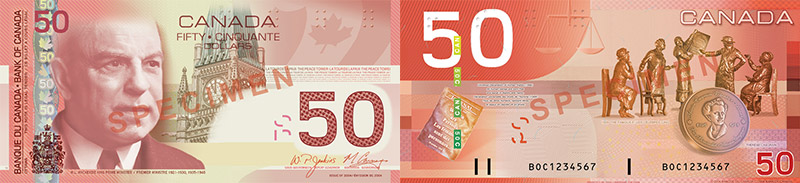 50 dollars 2004 to 2006