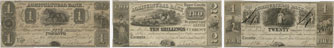 Agricultural Bank banknotes of 1835