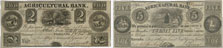 Agricultural Bank banknotes of 1836