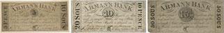 Arman's Bank banknotes of 1837