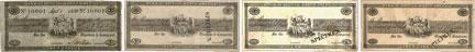Bank of British North America banknotes of 1838