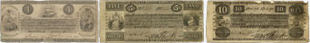 Bank of British North America banknotes of 1841