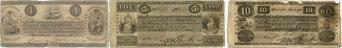 Bank of British North America banknotes of 1841