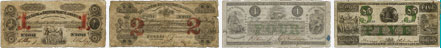 Bank of British North America banknotes of 1852