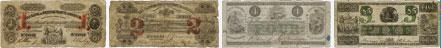 Bank of British North America banknotes of 1852