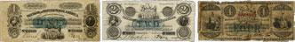 Bank of British North America banknotes of 1856