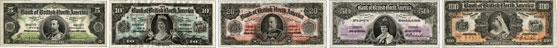 Bank of British North America banknotes of 1911