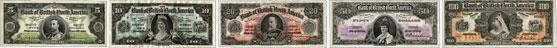 Bank of British North America banknotes of 1911