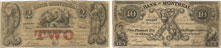 Bank of Montreal banknotes of 1846