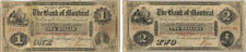 Bank of Montreal banknotes of 1856