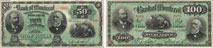 Bank of Montreal banknotes of 1892