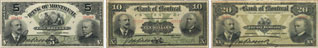 Bank of Montreal banknotes of 1904