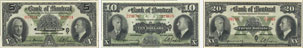Bank of Montreal banknotes of 1938