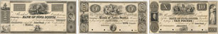 Bank of Nova Scotia banknotes of 1852