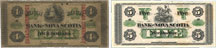 Bank of Nova Scotia banknotes of 1870