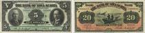 Bank of Nova Scotia banknotes of 1918