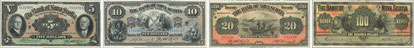 Bank of Nova Scotia banknotes of 1929