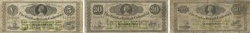 Bank of British Columbia banknotes of 1879