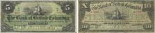 Bank of British Columbia banknotes of 1894