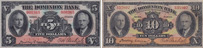 Dominion Bank banknotes of 1935