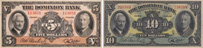 Dominion Bank banknotes of 1938