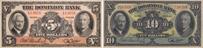 Dominion Bank banknotes of 1938