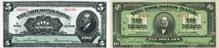 Molsons' Bank banknotes of 1922