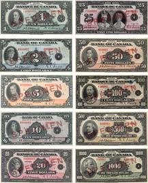 Billets de banque du Canada de 1935