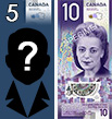 Canadian 10 dollars banknotes of 2018