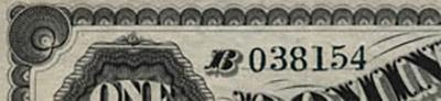 1 dollar 1878 - Dominion of Canada - Contour en coquilles