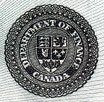 1 dollar 1917 - Banknote - Dominion of Canada - Seal only