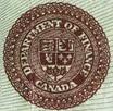 1 dollar 1923 - Bronze seal - Dominion of Canada