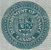 1 dollar 1923 - Sceau vert - Dominion of Canada