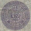 1 dollar 1923 - Sceau mauve - Dominion of Canada