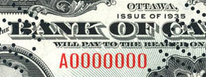 1 dollar 1935 - Banknote - English - Serie A