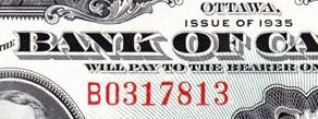 1 dollar 1935 - Banknote - English - Serie B