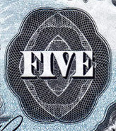 5 dollars 1912 - Billet de banque - Dominion of Canada - Sans Sceau