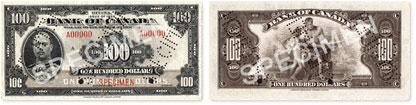 100 dollars 1935