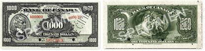 1000 dollars 1935