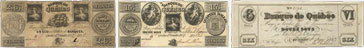 Quebec Bank banknotes of 1837