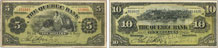 Quebec Bank banknotes of 1908