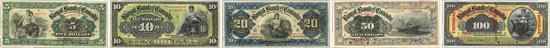 Royal Bank of Canada banknotes of 1909