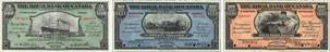 Royal Bank of Canada banknotes of 1920