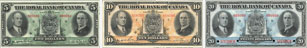 Royal Bank of Canada banknotes of 1933