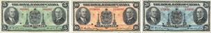 Royal Bank of Canada banknotes of 1935